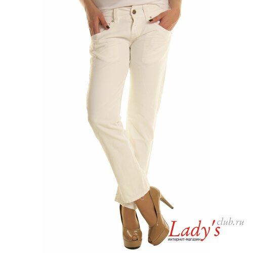 Итальянские женские брюки SEXY WOMAN J1027, белые