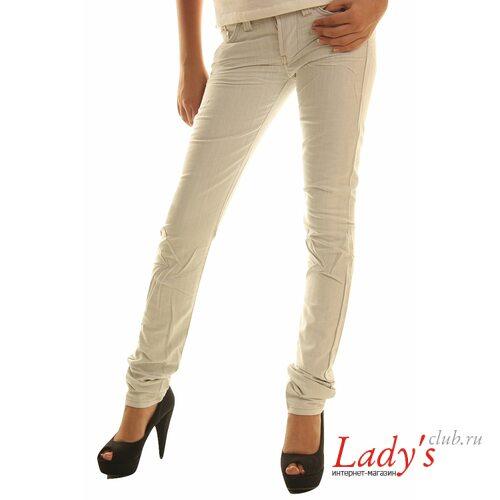 Итальянские белые женские брюки SEXY WOMAN J786