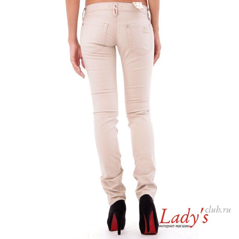 Женские бежевые брюки купить недорого прямые