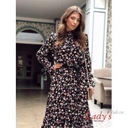 Женское платье Луиза миди  купить интернет магазине Lady's club.ru