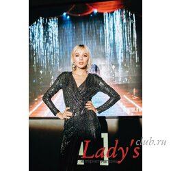 Женское нарядное платье lcl13-31 Lady's club купить в интернет магазине вечернее