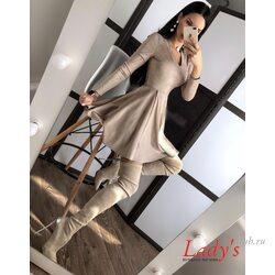 Женское платье Соблазн замшевое  купить интернет магазине Lady's club.ru