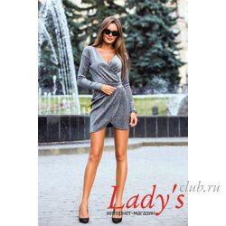Женское нарядное платье lcl13-25 Lady's club купить в интернет магазине вечернее