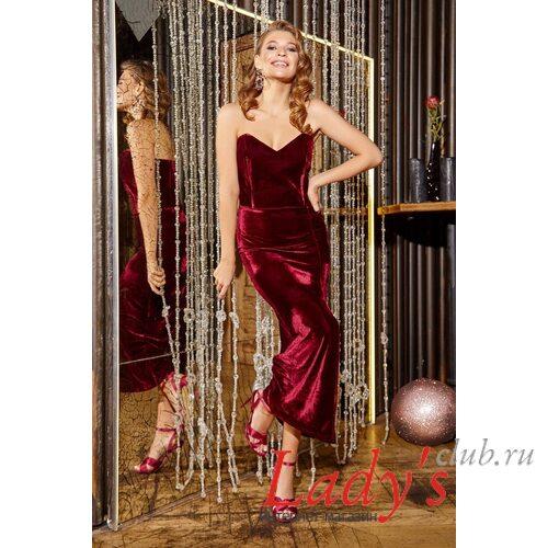 Женское вечернее платье lcl13-166 Lady's club купить в интернет магазине праздничное недорого наложенным платежом с доставкой по России