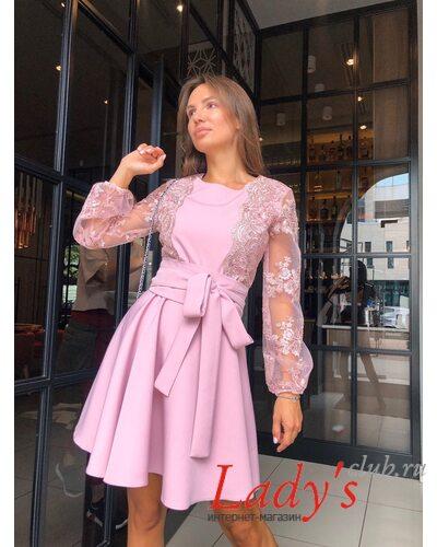 Женское платье Вивьен   купить интернет магазине Lady's club.ru