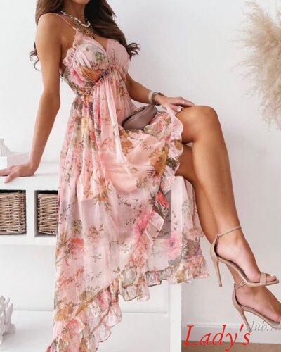 Женское летнее платье сарафан lcl130721 Lady's club купить в интернет магазине  аренда прокат платья