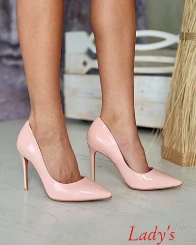 Туфли лодочки открытые женские купить в интернет магазине Lady's club.ru недорого розовые