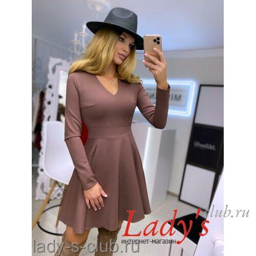 Женское короткое платье купить в интернет магазине Lady's club.rulcl/02-42